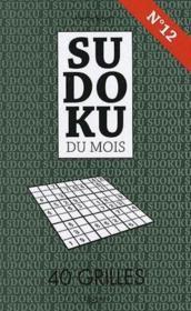 Sudoku Du Mois N.12 Decembre - Couverture - Format classique