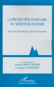 La Protection Judiciaire Du Mineur En Danger ; Aspects De Droit Interne Et De Droits Europeens - Intérieur - Format classique