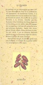 Le Palmier - 4ème de couverture - Format classique