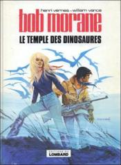Bob Morane t.5 ; le temple des dinosaures - Couverture - Format classique