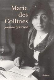 Marie Des Collines - Couverture - Format classique
