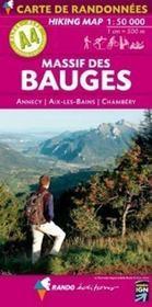Massif des Bauges ; Annecy, Aix-les-Bains, Chambéry - Intérieur - Format classique