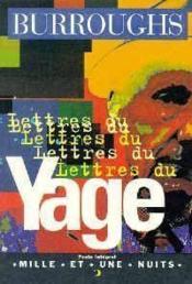 Lettres Du Yage - Couverture - Format classique