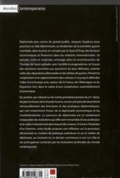 Jacques Seydoux Diplomate - 4ème de couverture - Format classique