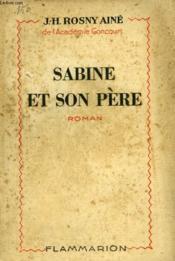 Sabine Et Son Pere. - Couverture - Format classique