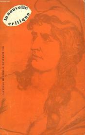 La Nouvelle Critique N°140. Revue Mensuelle, Novembre 1962. - Couverture - Format classique
