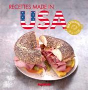 Vente livre :  Recettes made in USA  - Marie-Laure Tombini