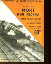Le Yard - Mort D'Un Inconnu - N°10 - Couverture - Format classique