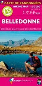 Belledonne ; Grenoble, Chartreuse, Grandes Rousses - Couverture - Format classique