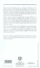 Ma Mere, La Morte ; L'Ecriture Du Deuil Au Feminin Chez Yourcenar, Beauvoir Et Ernaux - 4ème de couverture - Format classique