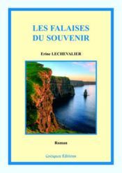 Les falaises du souvenir - Couverture - Format classique