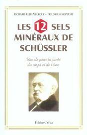 12 Sels Mineraux De Schussler (Les) - Intérieur - Format classique