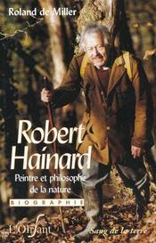 Robert Hainard ; peintre et philosophe de la nature - Intérieur - Format classique