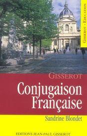 Conjugaison Francaise - Intérieur - Format classique