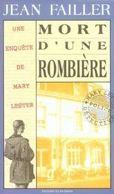 Mary Lester T.11 ; Mort D'Une Rombière - Intérieur - Format classique