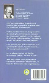 Mary Lester T.11 ; Mort D'Une Rombière - 4ème de couverture - Format classique