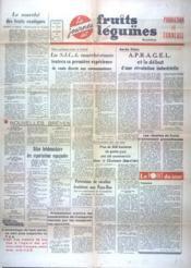 Fruits Et Legumes N°2822 du 26/07/1964 - Couverture - Format classique