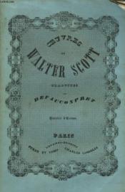 OEUVRES DE WALTER SCOTT. TOME 28e. hISTOIRE D'ECOSSE TOME III. - Couverture - Format classique