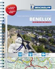 Benelux & north of france / benelux & france nord - atlas routier et touristique  - Collectif Michelin