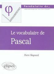 Pascal - Intérieur - Format classique