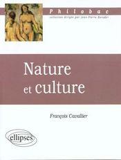 Nature Et Culture - Intérieur - Format classique
