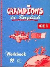 Champions in english ce1 / livret d'activites (cameroun/panaf) - Couverture - Format classique