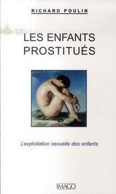 Les enfants prostitués ; l'exploitation sexuelle des enfants - Intérieur - Format classique