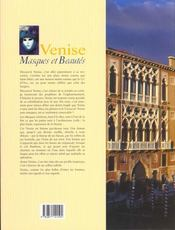 Venise - 4ème de couverture - Format classique