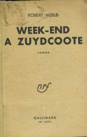 Week-End A Zuydcoote - Couverture - Format classique