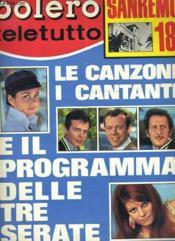 Bolero Film Teletutto - N°1084 - Couverture - Format classique