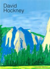 Vente livre :  David Hockney  - Alfred Pacquement