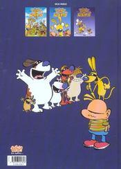 Tony et Alberto t.4 ; super blaireau - 4ème de couverture - Format classique