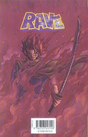 Rave t.19 - 4ème de couverture - Format classique
