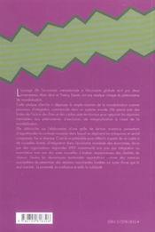 De L'Economie Internationale A L'Economie Globale - 4ème de couverture - Format classique