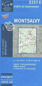 Montsalvy - Couverture - Format classique