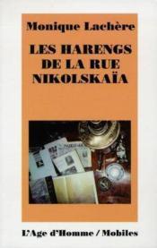 Les Harengs De La Rue Nikolskaia - Couverture - Format classique