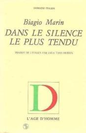 Dans Le Silence Le Plus Tendu - Couverture - Format classique