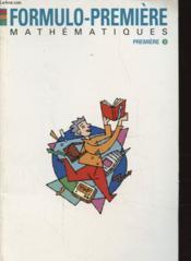Maths 1es - Couverture - Format classique
