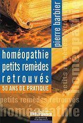 Homeopathie - Petits Remedes Retrouves - Couverture - Format classique