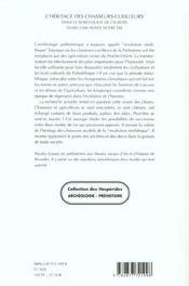 L'Heritage Des Chasseurs Cueilleurs Dans Le Nord-Ouest De L'Europe 1000-3000 Avant Notre Ere - 4ème de couverture - Format classique