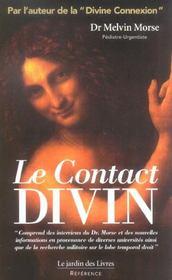 Le contact divin - 4ème de couverture - Format classique