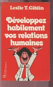 Develop Habilement Relat Humai - Couverture - Format classique