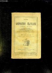 COURS DE COMPOSITION FRANCAISE. LA METHODE, LES GENRES. 5em EDITION. - Couverture - Format classique