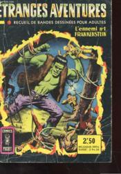 Etranges Aventures - L'Ennemi N° 1 Frankenstein - N°3016 - Couverture - Format classique