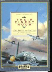 Their Finest Hour - The Battle Of Britain - Couverture - Format classique