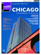 Vente livre :  France Culture Papiers N.17 ; Printemps 2016 ; Chicago  - Collectif