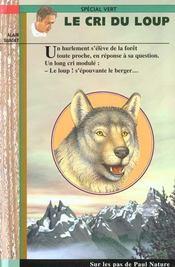 Le cri du loup - Intérieur - Format classique