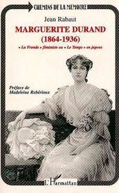 Marguerite Durand - Intérieur - Format classique