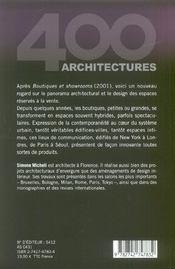Petites et grandes boutiques - 4ème de couverture - Format classique
