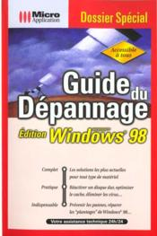 Dossier sp guide depann w98-k1 - Couverture - Format classique